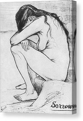 Sombre Drawings Canvas Prints