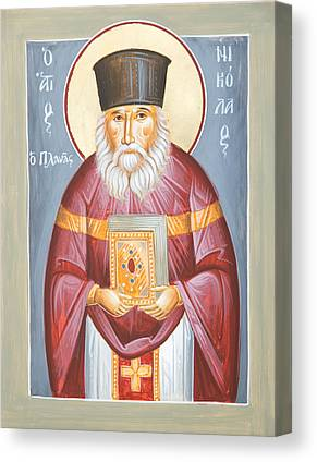 St Nicholas Planas Canvas Prints