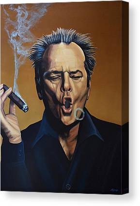 Jack Nicholson Canvas Prints