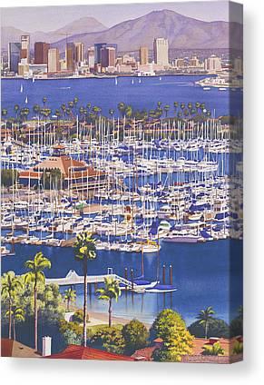 Vertical Paintings Canvas Prints