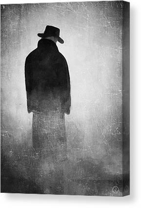 Foggy Day Digital Art Canvas Prints