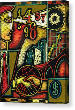 Edifice Paintings Canvas Prints