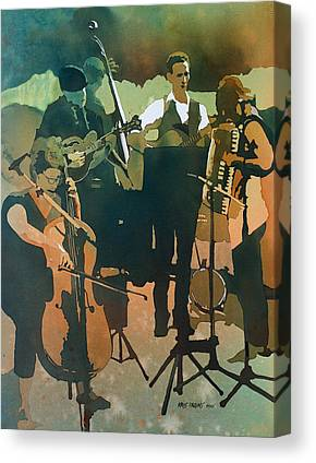 Alternative Music Paintings Canvas Prints