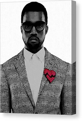 Kim Kardashian Canvas Prints