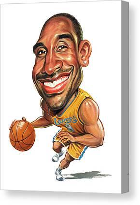 Kobe Bean Bryant Canvas Prints