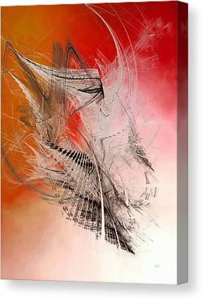 Ideas Infectious Digital Art Canvas Prints