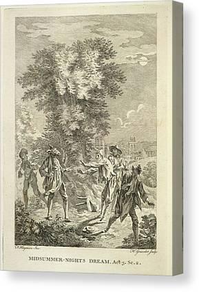 Shakespear Canvas Prints