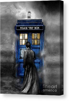 Doctor Who Canvas Prints