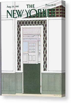 Panel Door Canvas Prints