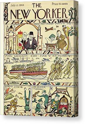 Medieval Tapestries Canvas Prints