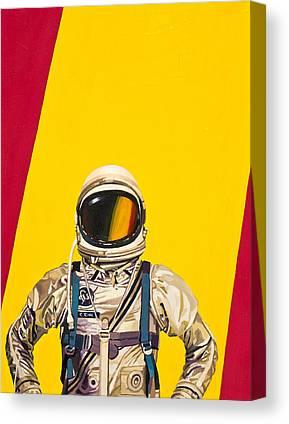 Science Fiction Paintings Canvas Prints