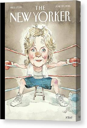 Hillary Clinton Canvas Prints