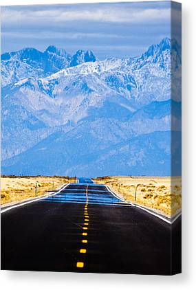 Mountain Road Canvas Prints