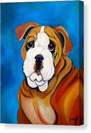 English Bull Dog Canvas Prints
