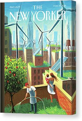 Wind Turbines Canvas Prints