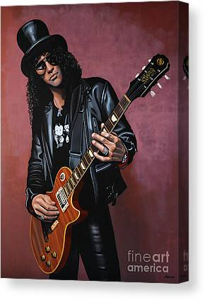 Slash Canvas Prints