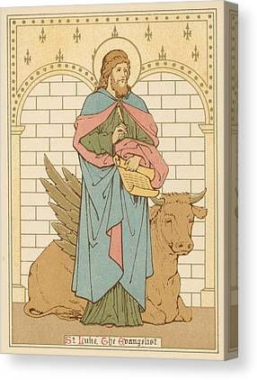 Saint Luke The Evangelist Canvas Prints