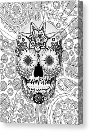 Sugar Skulls Canvas Prints