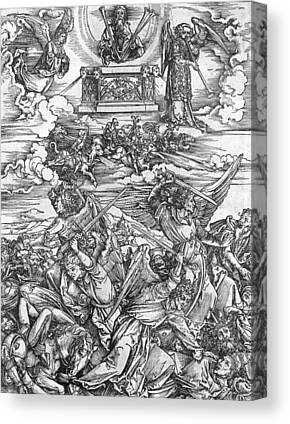 Revelation Drawings Canvas Prints