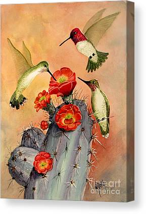 Claret Paintings Canvas Prints