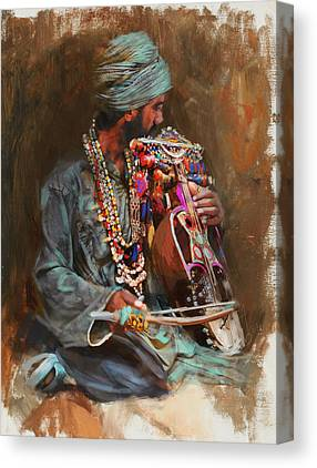 Hijab Art Canvas Prints