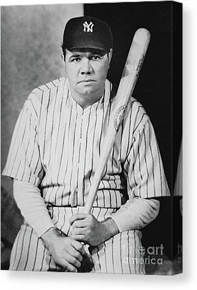 Ny Yankees Portrait Canvas Prints