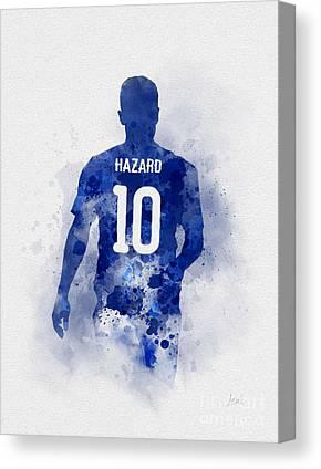 Eden Hazard Canvas Prints