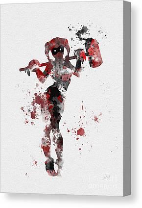 Harley Quinn Canvas Prints