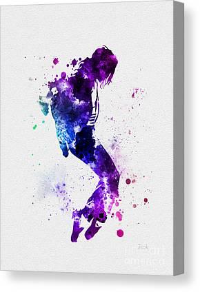 Jackson 5 Mixed Media Canvas Prints