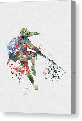 The Link Canvas Prints