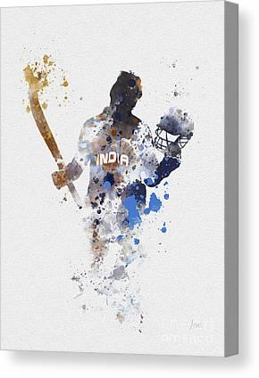 Cricket Mixed Media Canvas Prints