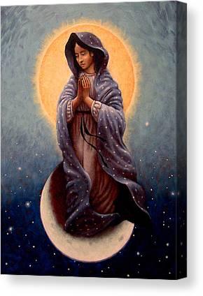 Queen Of Heaven Canvas Prints