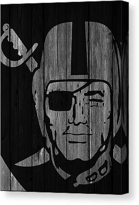 Oakland Raiders Canvas Prints