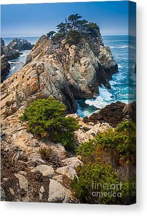 Point Lobos Reserve Canvas Prints