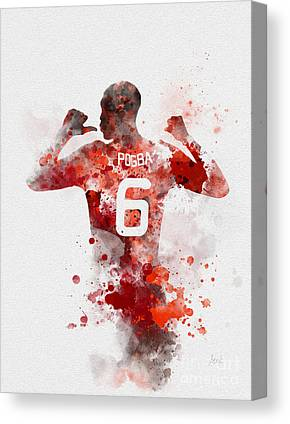 Paul Pogba Canvas Prints