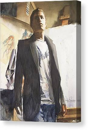 Grey. National Watercolor Society Canvas Prints