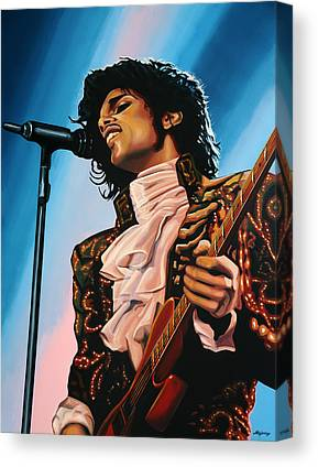 Famous Singers Canvas Prints
