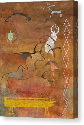 Visual Midrash Canvas Prints