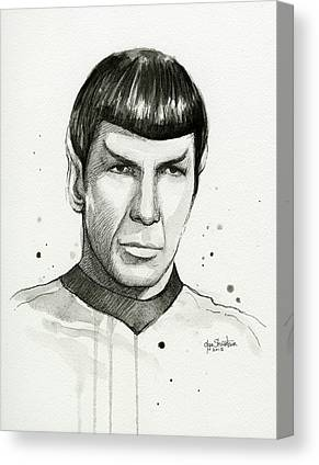 Spock Canvas Prints