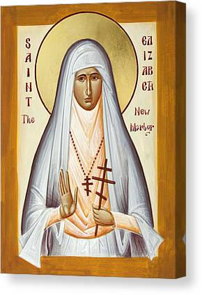 St Elizabeth The New Martyr Canvas Prints