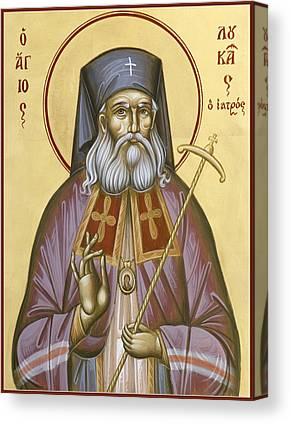 St Luke Of The Surgeon Canvas Prints
