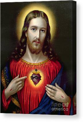 Catholic Icon Canvas Prints