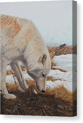 Picking Up A Scent Canvas Prints