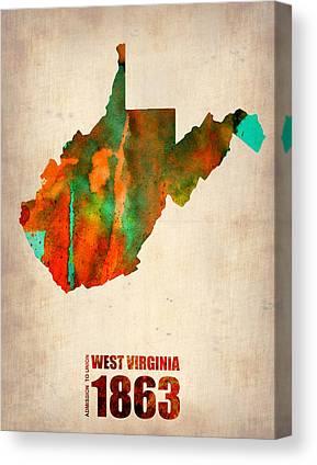 West Virginia Canvas Prints
