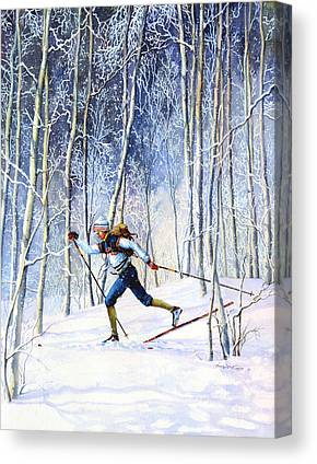 Canadian Sports Paintings Canvas Prints
