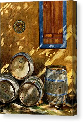 Barrels Canvas Prints