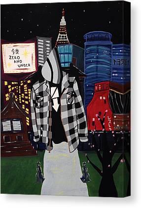 Tokyo Skyline Canvas Prints