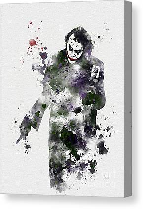 Heath Ledger Canvas Prints