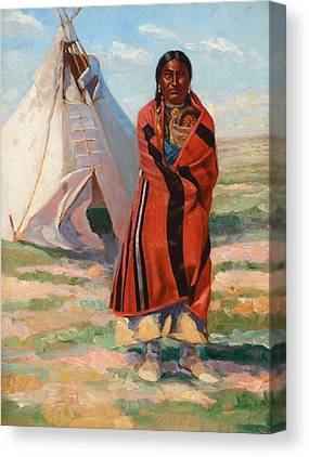 Designs Similar to Sioux Woman And Baby, 1890