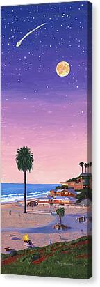 Picnic Table Canvas Prints